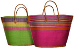 large drawstring beach baskets - bato