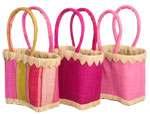 children's raffia baskets