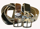 leather cowhide belts
